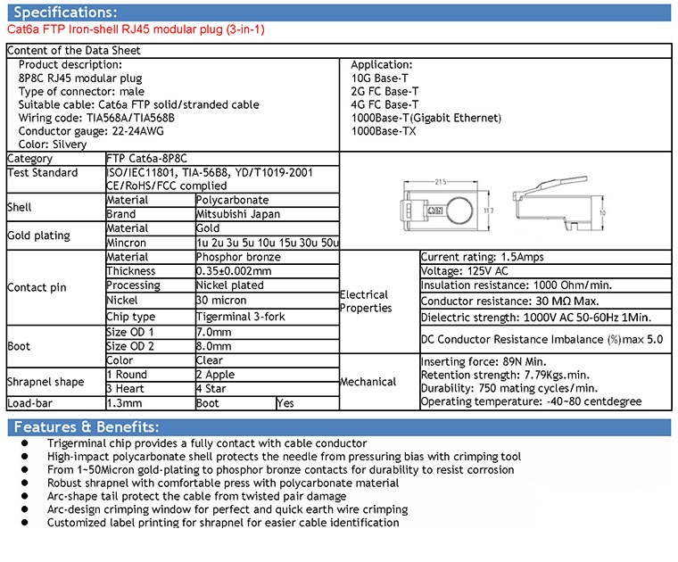 Creative ruby co ltd innovated rj45 connector manufactuer and click to downloadftp rj45 user manual sciox Images